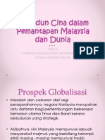 Tamadun Cina Dalam Pemantapan Malaysia Dan Dunia