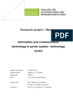 Information and Communication Technologies in modern power systems