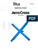 AeroCross Flow Sensor Application Guide (Used in VAV)