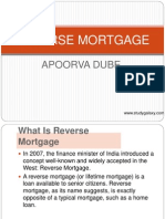 Reverse Mortgagge in India