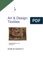 Art Guide 03Textiles KS2to4