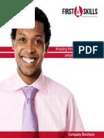First4Skills Company Brochure