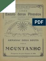 Armanac dera Bouts dera Mountanho. - [Annado 34], numéro spécial 1938