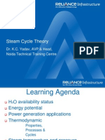 17318898 Steam Cycle Theory Reliance