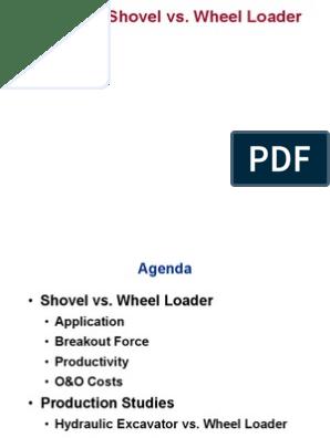 Shovel vs Wheel Loader | Loader (Equipment) | Tire