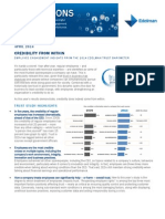 Employee Engagement Insights from the Trust Barometer