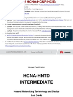 HCNA Intermediate Lab