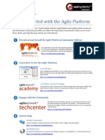 Getting Started with the Agile Platform