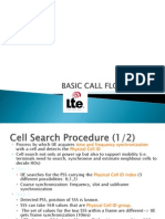 Basic Call Flow in Lte