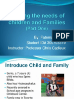 Meeting the Needs of Children and Families PowerPoint