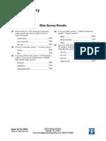 PPP Ohio Supreme Court Poll_April 2014