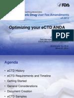 Day1.4 - Lantzy - Optimizing Your eCTD ANDA