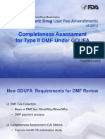 Day1.7 - Song - Completeness Assessment for TYpe II API DMF Under GDUFA