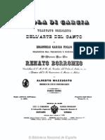 Garcia Trattato Di Canto I Parte