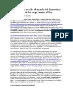 Zapatero Pide Auxilio Al Mundo Del Dinero Tras El Manifiesto de Los Empresarios Al Rey