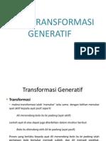 TEORI TRANSFORMASI GENERATIF 03