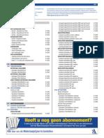 archidat materiaalprijzen
