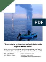 Augusta Priolo Melilli Solarino e Franco Breve Storia Del Polo Industriale