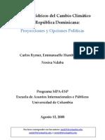 Impactos Hidricos del Cambio Climatico en la Republica Dominicana.pdf