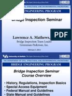 Bridge Inspection Overview by Larry Mathews