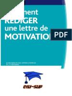 Comment Rediger Une Lettre de Motivation Www.etu-sup.com