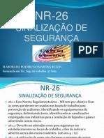 Nr 26 Sinalizacao de Seguranca