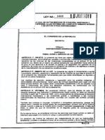 Ley 1448 Ley de Victimas y Restitucion de Tierras