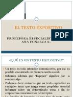 EL TEXTO EXPOSITIVO 8°