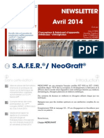 FR - Newsletter N°2 Avril - Mai - Juin 2014