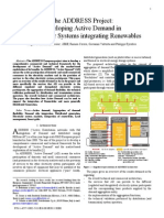 Develoing Active Demand in Smart Power Systems Intergrating Renewables