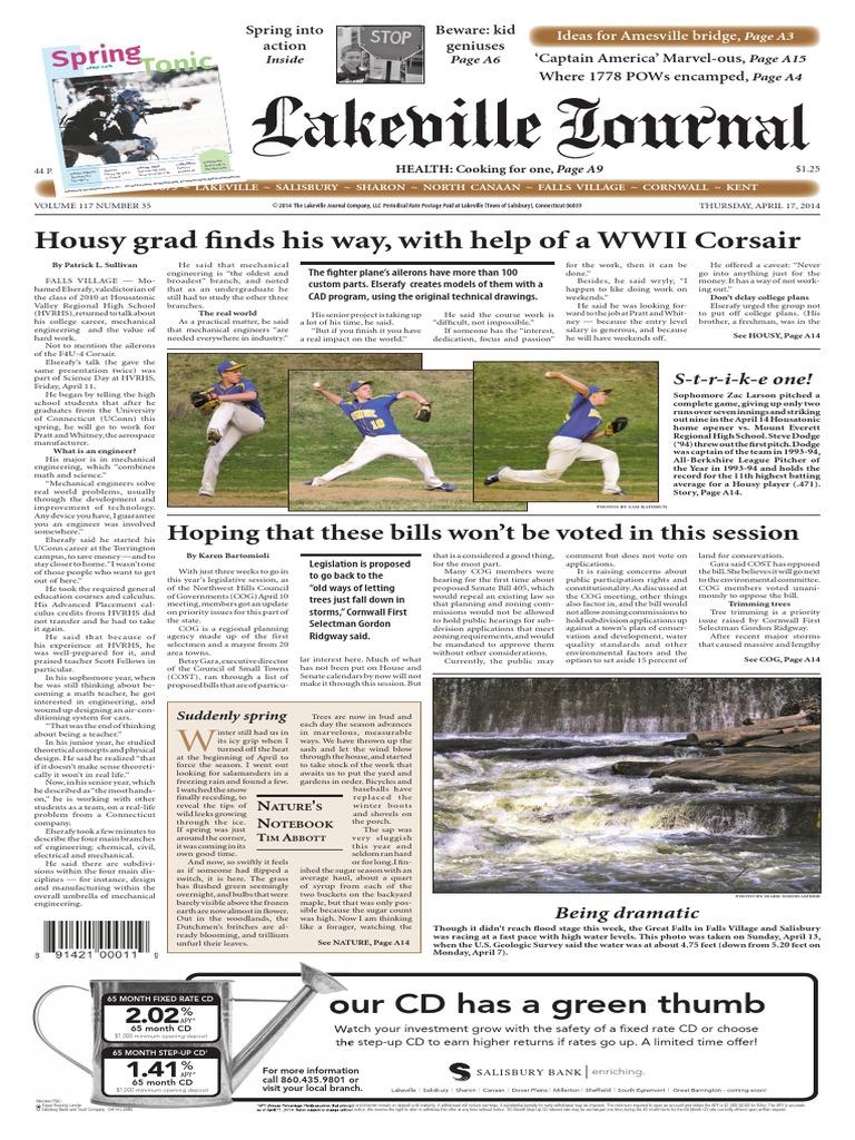 The Lakeville Journal 4 17 2014 Easter Digital Social Media