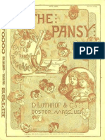 The Pansy Magazine May 1886 Various