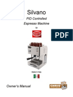 Silvano Owners Manual
