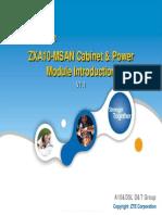 AM_SS03_E2_P1 ZXA10-MSAN Cabinet & Power Module Introduction(Malaysia) V1.1 19p