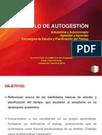 PPT MÓDULO AUTOGESTIÓN 2014 FINAL