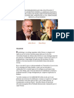 ANÁLISIS PORMENORIZADO DEL POLITÓLOGO Y SOCIÓLOGO ARGENTINO SOBRE LA AMENAZA FASCISTA