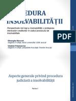 PROCEDURA INSOLVABILITĂȚII_SeminarAvocati_10.07.2013