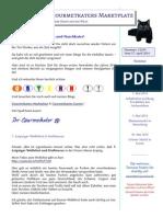 Newsletter Gourmetkaters Marktplatz 01-2014