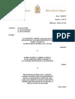 Le jugement de la Cour d'appel fédérale sur le statut des Métis et des Indiens non inscrits
