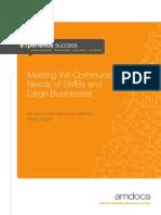 Meeting Communication Needs Smb Large Enterprise