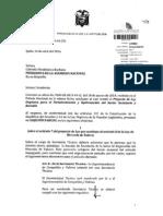 Objeción Parcial Proyecto Ley Orgánica para el Fortalecimiento y Optimización del Sector Societario y Bursátil