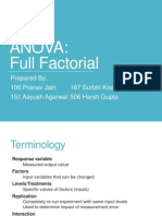 Factorial Annova2