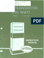 Raytheon Ra 250 Am Transmitter