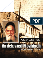 Article on the Chofetz Chaim - Moshiach Weekly Issue 62 Nissan 5774