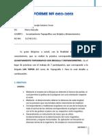 Informe 2 Los Topos