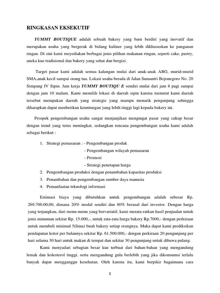 Proposal Bisnis Kelompok 2