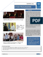 UnDP Justice Program Newsletter September 2009