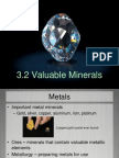 3 2 - valuable minerals