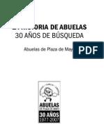 Abuelas de Plaza de Mayo- El Libro