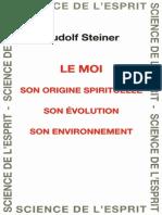 Rudolf Steiner - Le Moi ~ Son origine spirituelle, son évolution, son environnement - GA 107.pdf